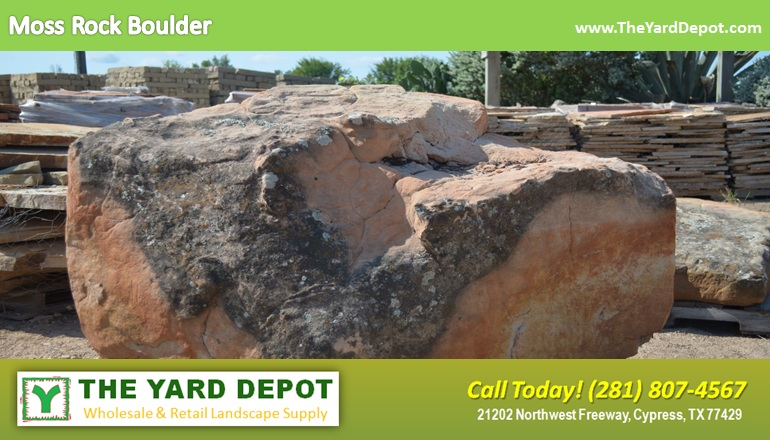 Large Landscape Boulders Dallas : Landscape rock the yard depot in cypress wholesale