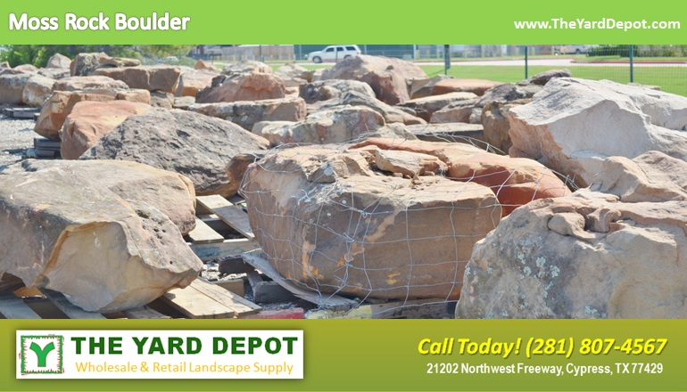 landscape rock the yard depot in cypress wholesale
