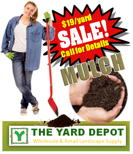 Mulch On Sale - $19 per yard - Call for Details - TheYardDeport - Wholesale and Retail Landscape Supplier Houston